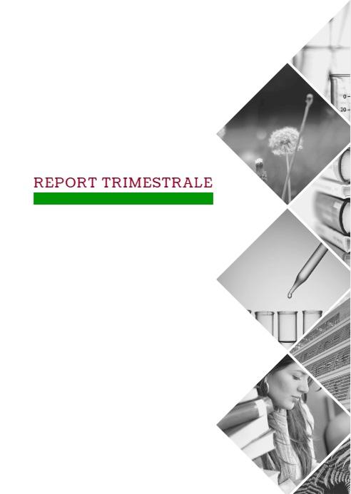 Calendario Trimestrali.Modello Di Nota Informativa Per Reportistica Trimestrale